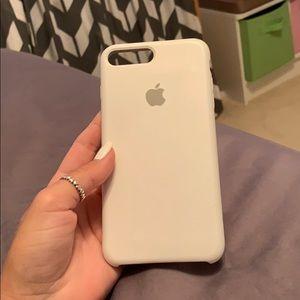 White apple iPhone 7 Plus case